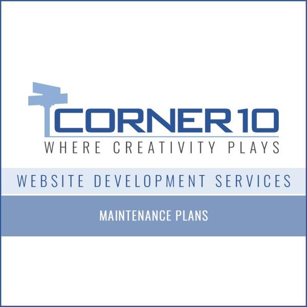 Corner 10 Creative Website Maintenance Plans