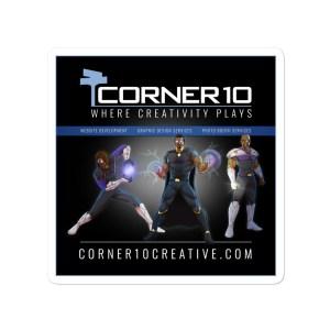 'Heroes' Dark Corner 10 Creative Stickers
