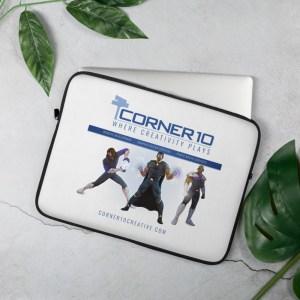 Corner 10 Creative 'Heroes' Laptop Sleeve