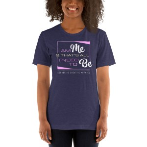 'IAm:Me' Corner 10 Creative Short-Sleeve Unisex T-Shirt (Bella + Canvas 3001)