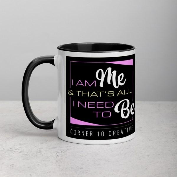 white ceramic mug with color inside black 11oz 6001079a02b93