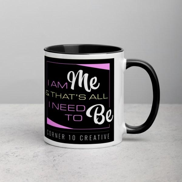 white ceramic mug with color inside black 11oz 6001079a02bd3