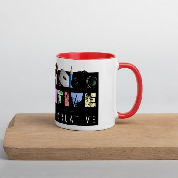white ceramic mug with color inside red 11oz 60010af231b9f