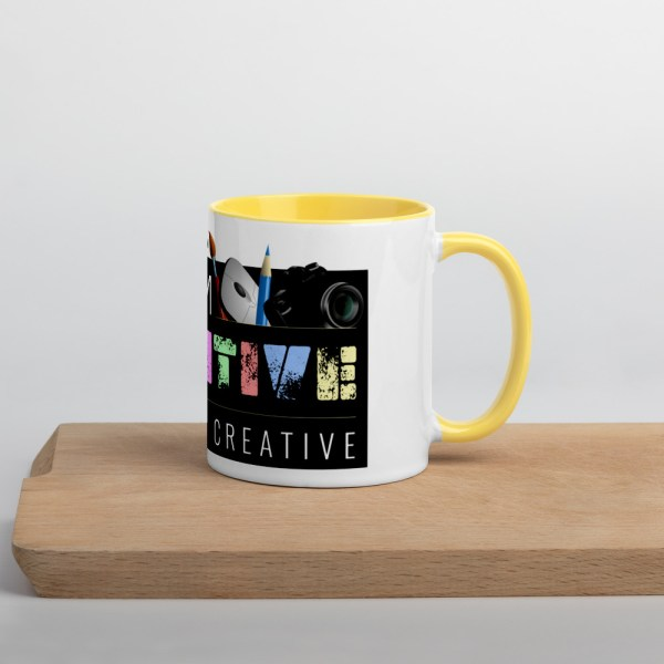white ceramic mug with color inside yellow 11oz 60010af231d78