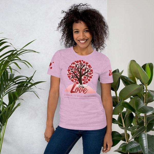 unisex premium t shirt heather prism lilac front 6045415809d13