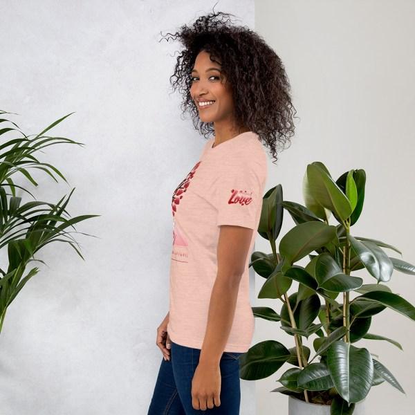unisex premium t shirt heather prism peach left 604541580e635