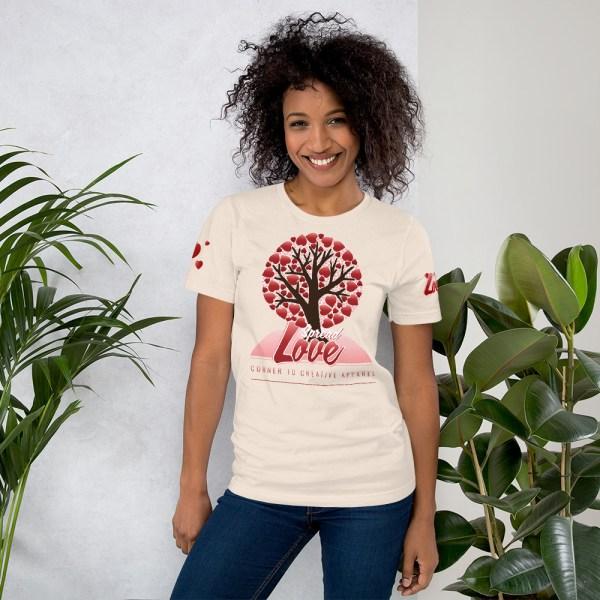 unisex premium t shirt soft cream front 604541581feca