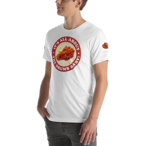 unisex premium t shirt white left front 6042c2f8da0cd
