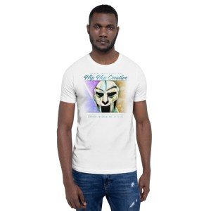 Hip Hop Creative: MF DOOM Short-Sleeve Unisex T-Shirt (Bella + Canvas 3001)