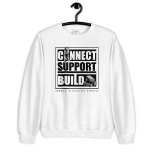 Connect | Support | Build Sweatshirt (Light Color)