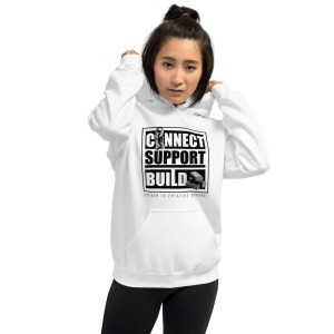 Connect | Support | Build Hoodie (Light Color)