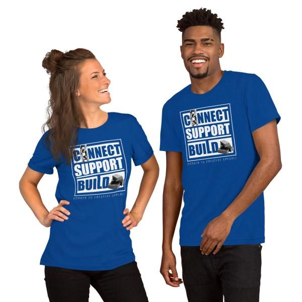 unisex staple t shirt true royal front 612ebb0de259e