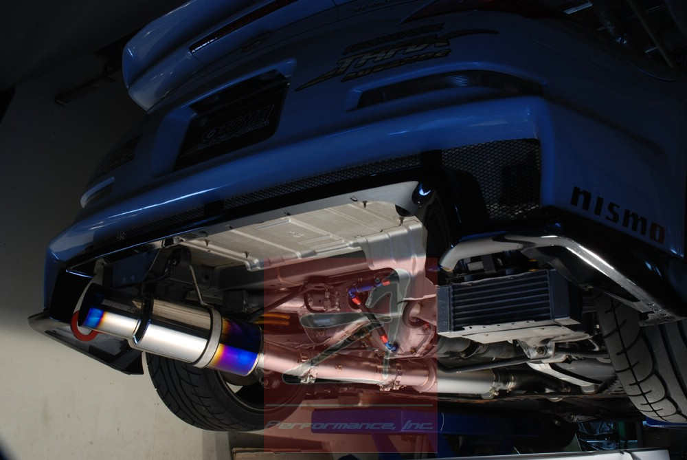 tomei titanium exhaust for 350z high