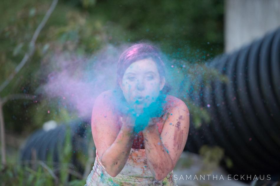 Powder Paint Trash The Dress Orlando