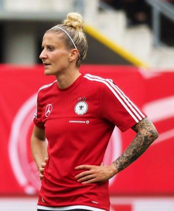 Anja Mittag schoss die ersten beiden Tore - Foto: Uta Zorn