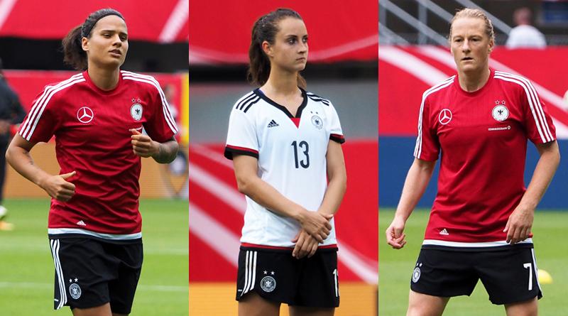 Weltfußballerin 2016: Melanie Behringer, Sara Däbritz und Dzsenifer Marozsan nominiert