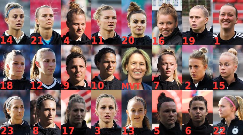 Martina Voss-Tecklenburg beruft WM-Aufgebot