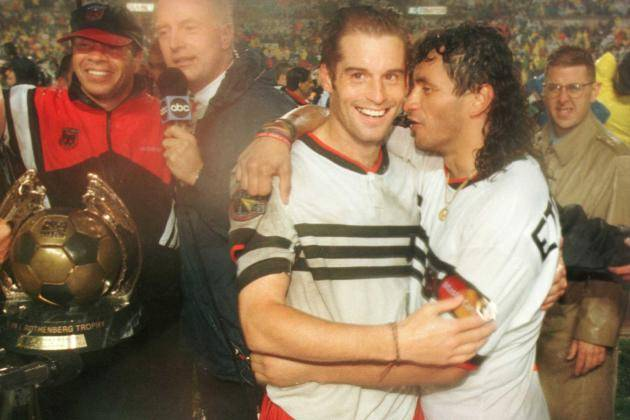 DC United Dynasty from early MLS days... Stephen Dunn/Getty Images