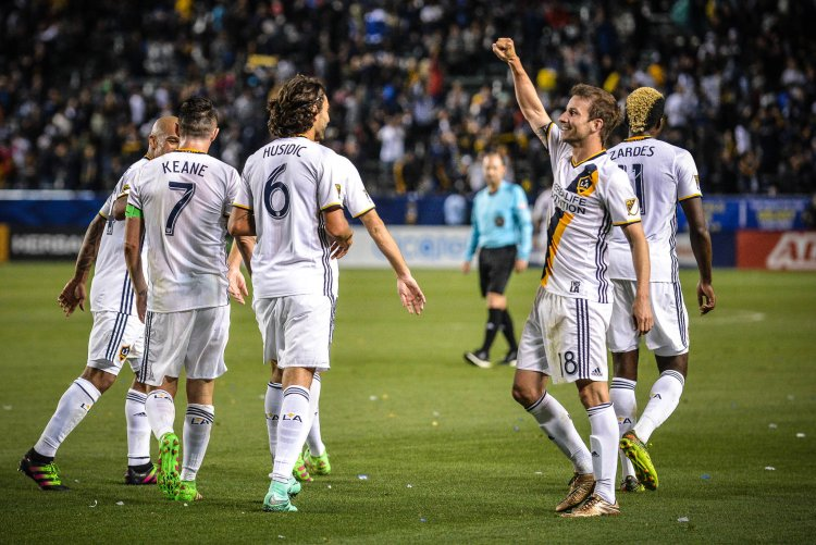 Mike Magee during LA Galaxy vs DC United - Photo Credit Steve Carrillo