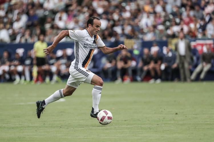 Landon Donovan's first full 90 minute match. FCDvLA October 23, 2016. Photo credit: LA Galaxy