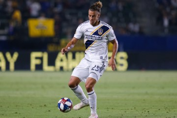 Title Image - Rolf Feltscher plays for the LA Galaxy in August of 2019 - Photo by Steve Carrillo