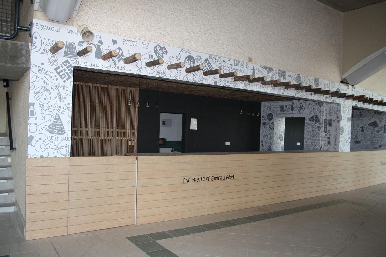 Emirati Food Restaurant Kiosk 3 by Cornerstone