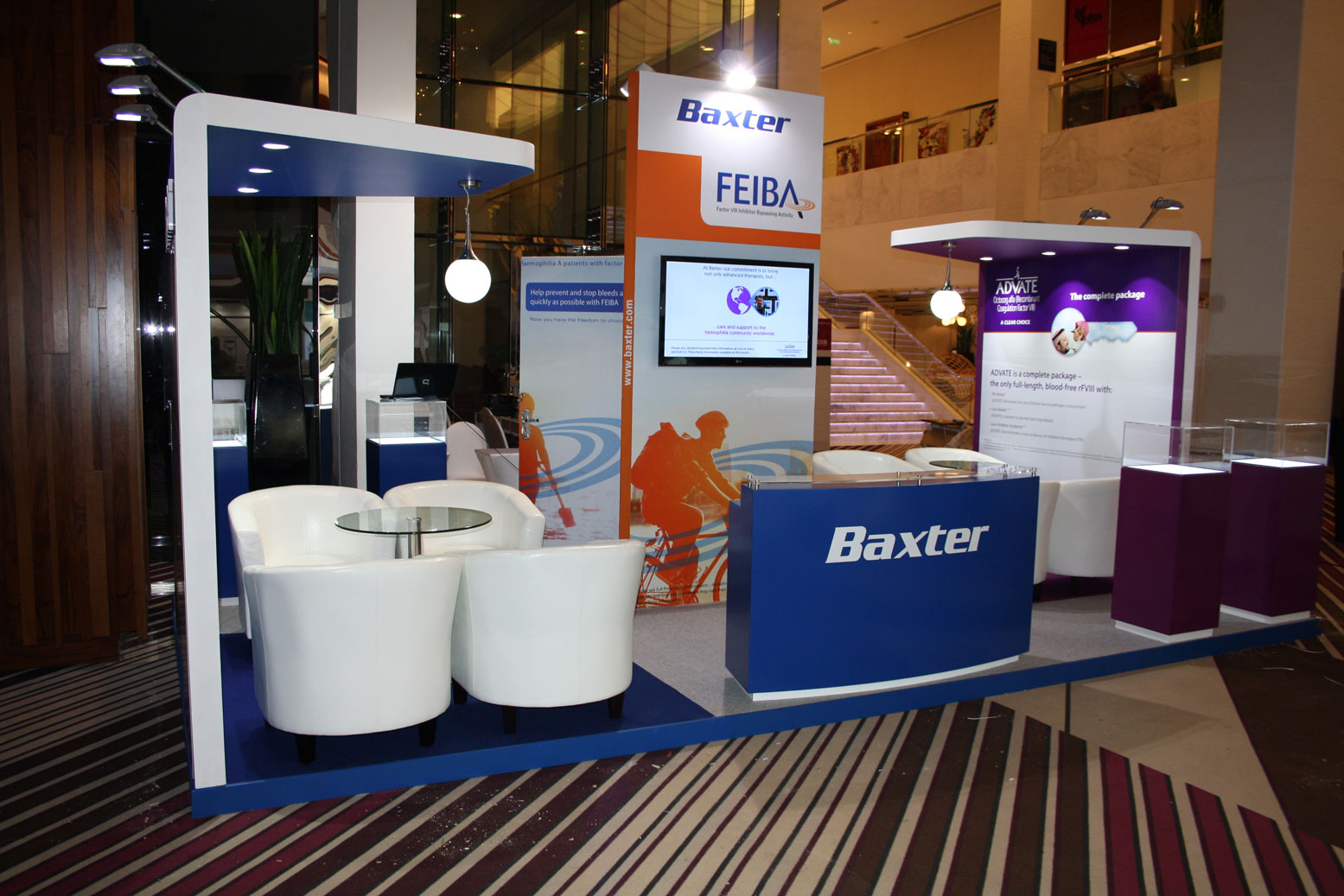Baxter Exhibition Stand 2 by Cornerstone
