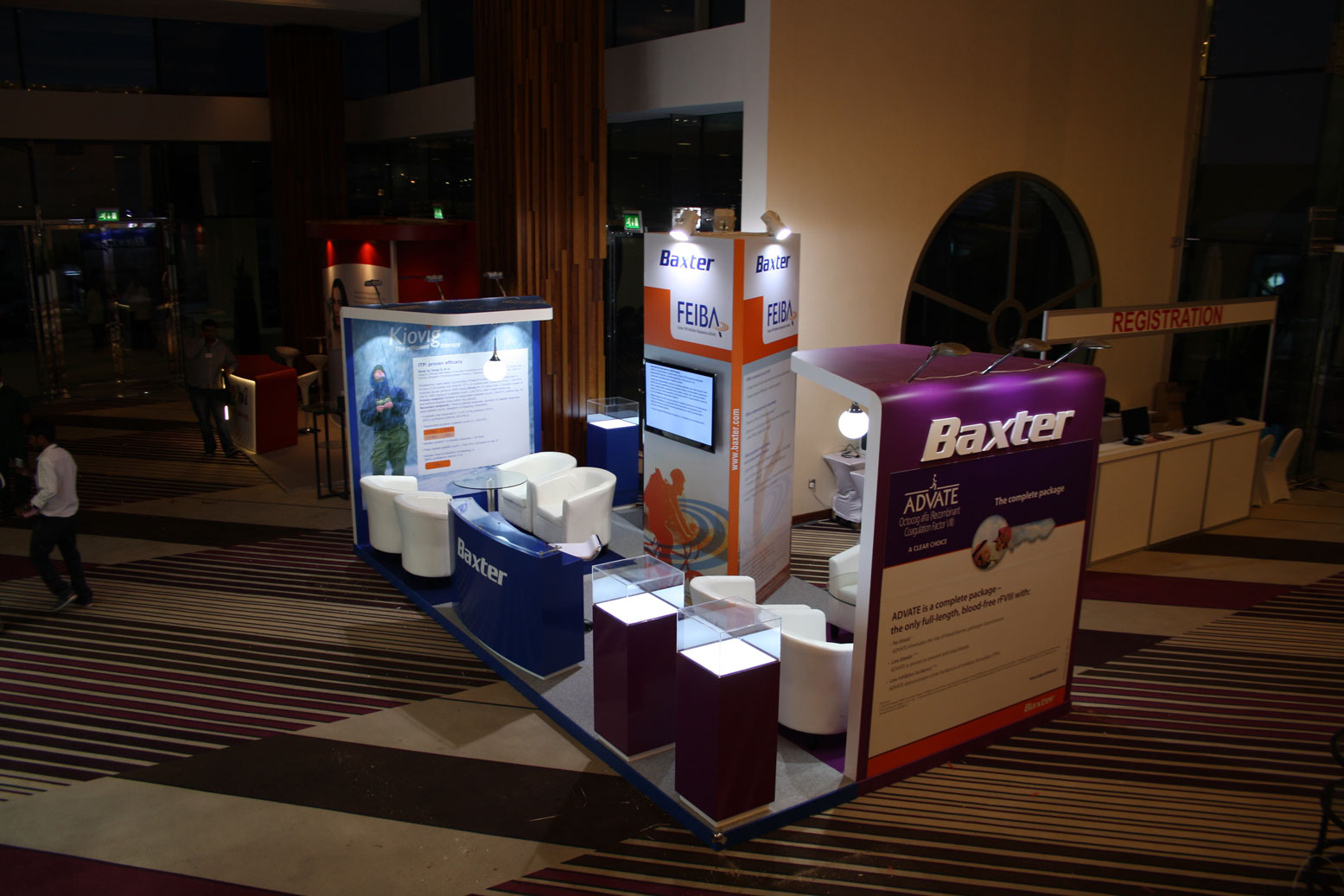 Baxter Exhibition Stand 3 by Cornerstone