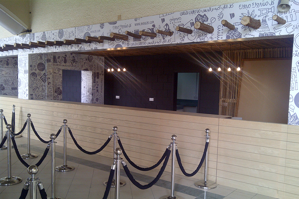 Emirati Food Restaurant Kiosk by Cornerstone