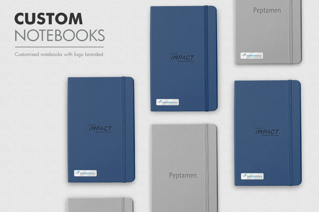 Impact Custom Notebook with Branded Logo by Cornerstone