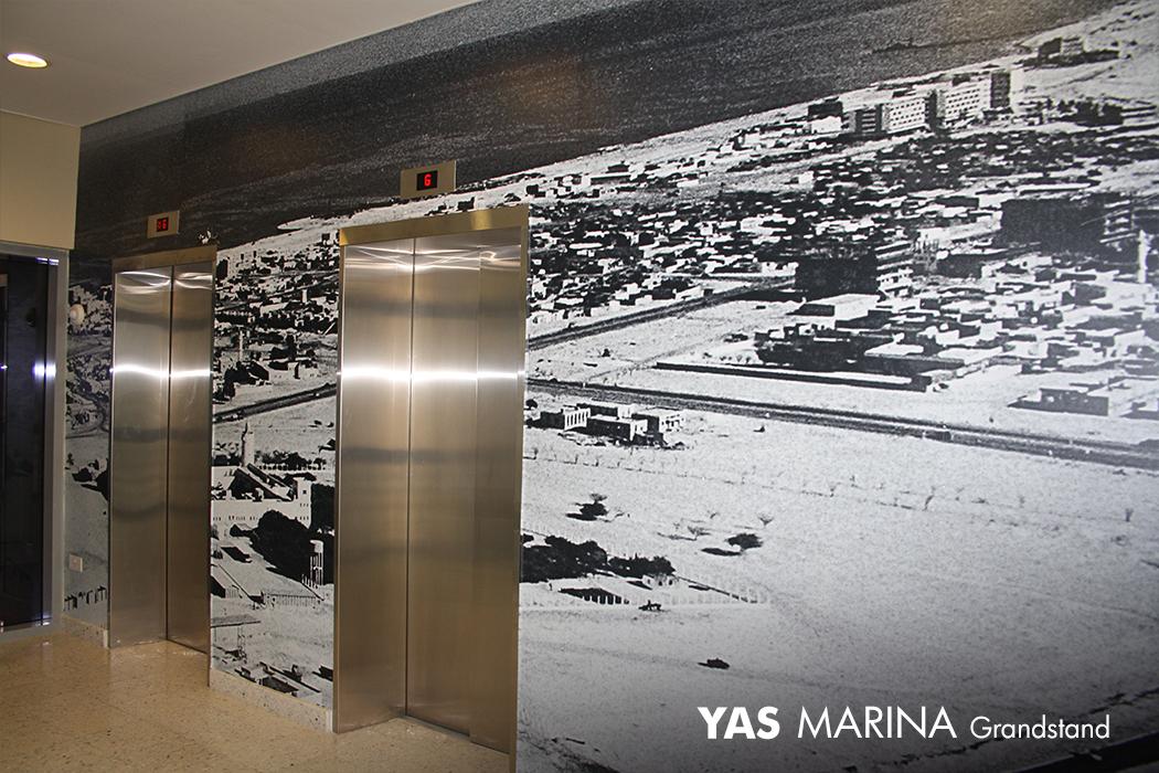 Yas Marina Large Format Printing by Cornerstone