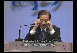 하용조목사 – 십자가 시리즈 6강 (십자가의 복음과 축제하는 공동체):( 행2 : 42 ~ 47)