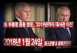 추천 영상 –  이스라엘 국회연설을 통해 본 펜스부통령의 신앙심  ( BradTV )