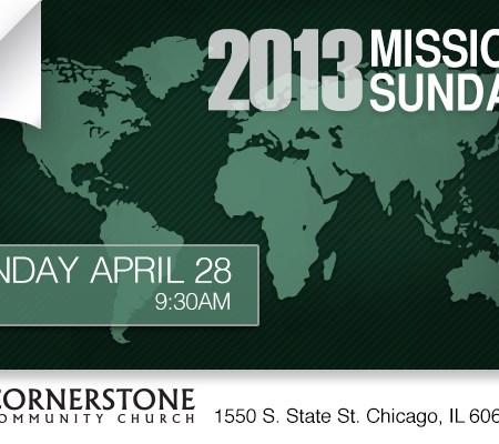 2013 Missions Sunday