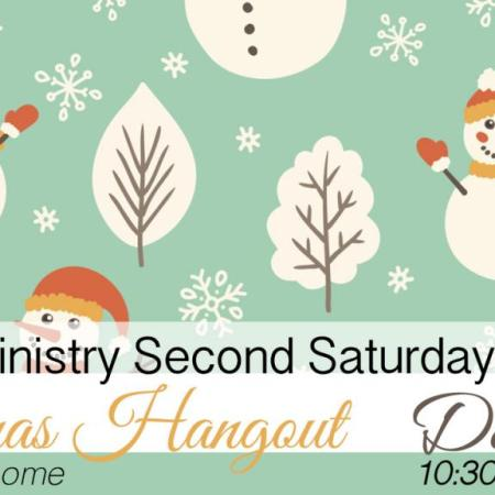 Men's Ministry Second Saturday, Christmas Hangout! December 13