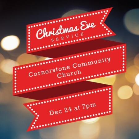 Cornerstone Christmas Eve service
