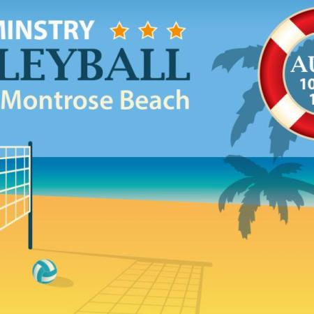 Men's Ministry volleyball