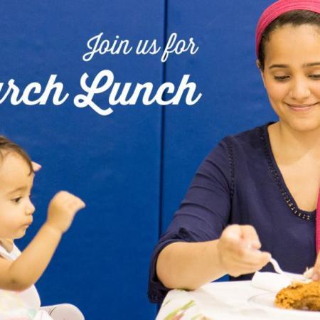 church lunch