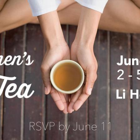 Women's Tea June 18