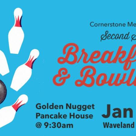 Men's Ministry Second Saturday - Breakfast & Bowling, January 14