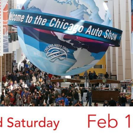 Men's Second Saturday - 2017 Chicago Auto Show, Feb 11