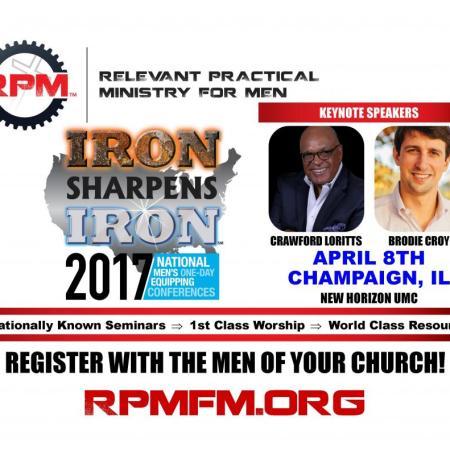 Iron Sharpens Iron Men's Conference, April 8