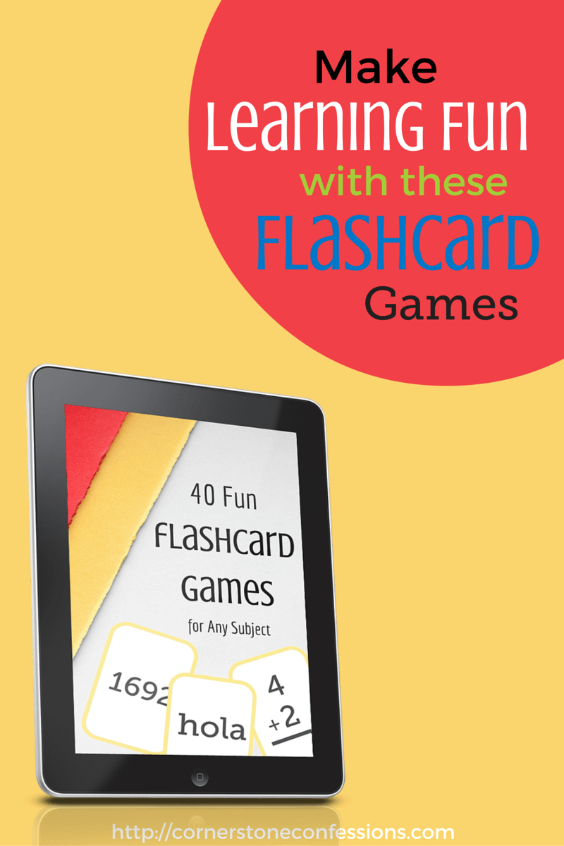 Make Learning Fun with These Flashcard Games
