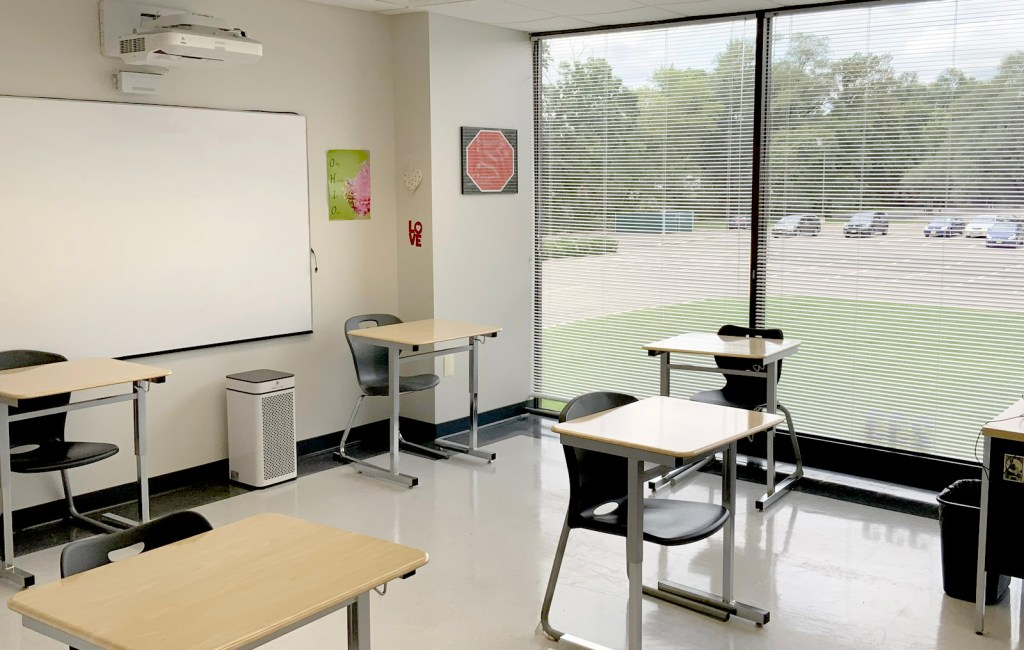 Social distancing is practiced in all classrooms and therapy offices.