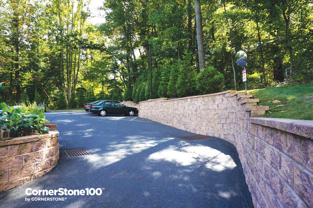 Retaining Walls For Driveways And Parking Lots