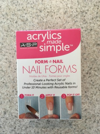 This is what sold me on the whole fake nail deal.