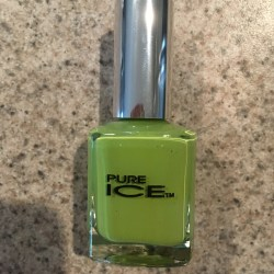 Summer Green Manicure 6-4-16 Pure Ice Wild Thing