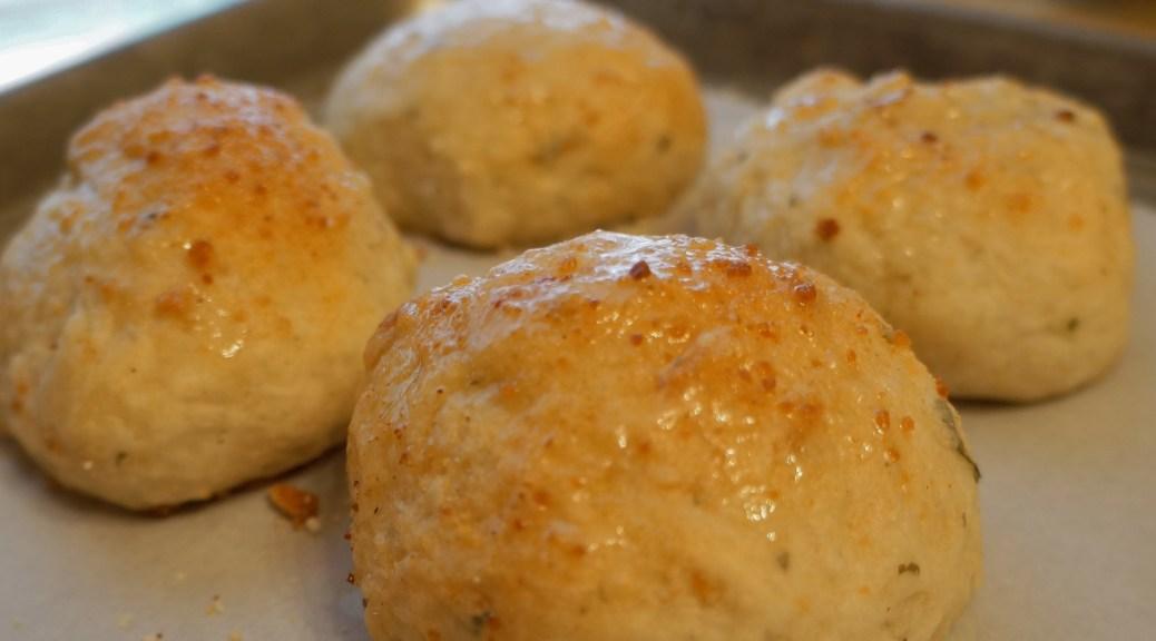 Garlic and herb yeast rolls