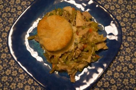 cornfed turkey potpie casserole