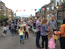 Cornhill Terrace Street Party 2016. Photo by Mary Hutchison